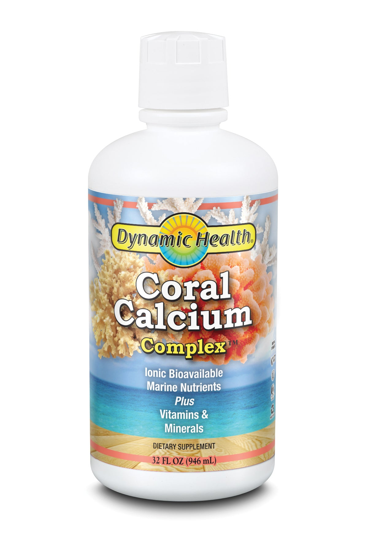Coral Calcium Complex - 32-Fl-Oz-(946-mL)