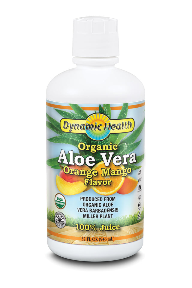 Aloe Vera Juice - Orange Mango - 32-Fl-Oz-(946-mL)