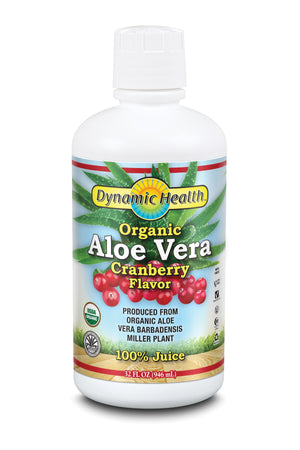 Aloe Vera Juice - Cranberry - 32-Fl-Oz-(946-mL)