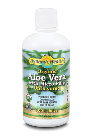 Aloe Vera Juice W Micro Pulp - 32-Fl-Oz-(946-mL)