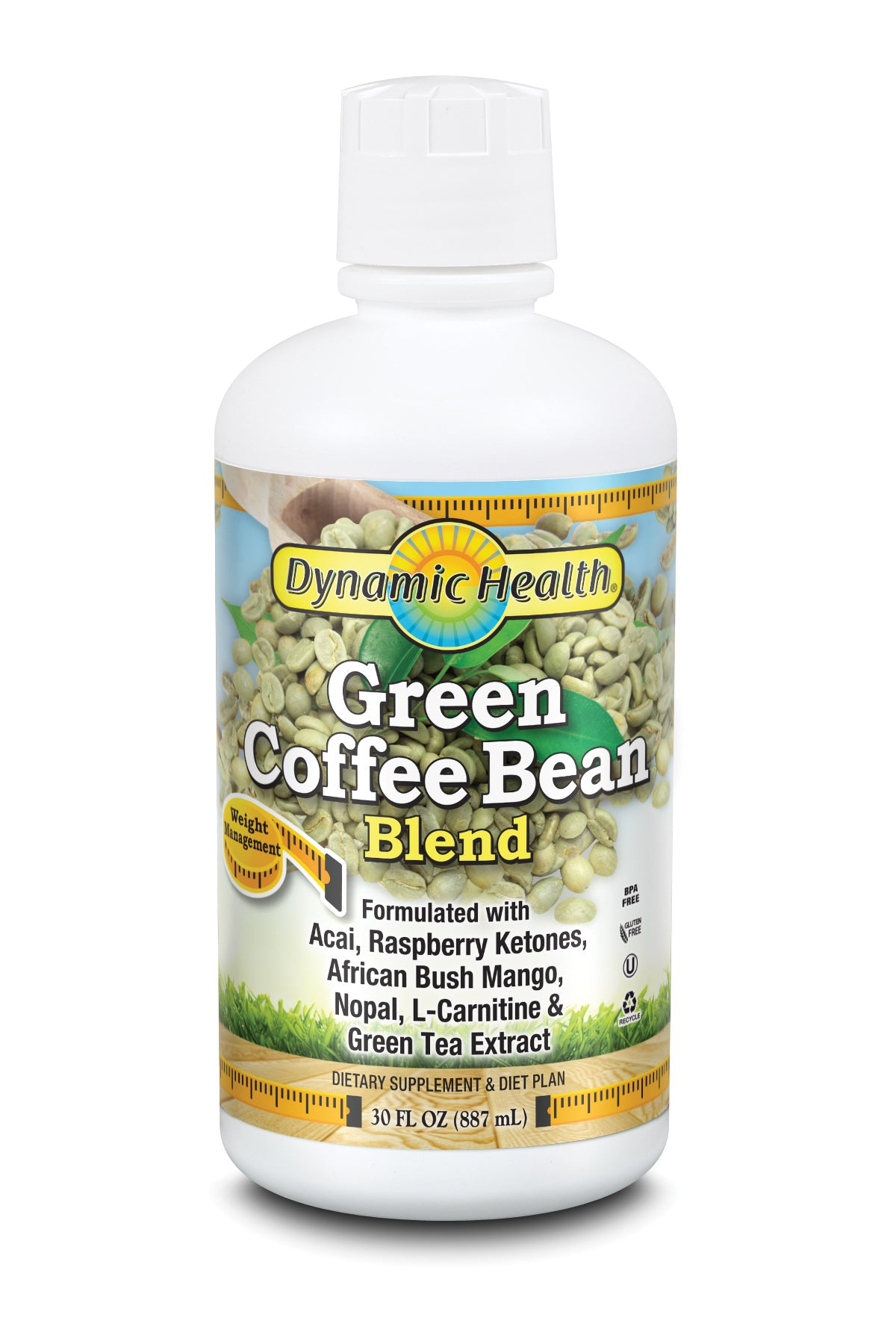 Green Coffee Bean Juice Blend - 30-Fl-Oz-(887-mL)