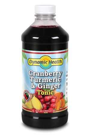 Cranberry, Turmeric & Ginger Tonic - 16-Fl-Oz-(473-mL)