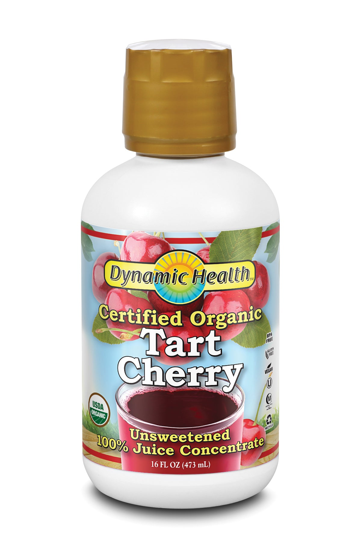 Tart Cherry Concentrate - 16-Fl-Oz-(473-mL)