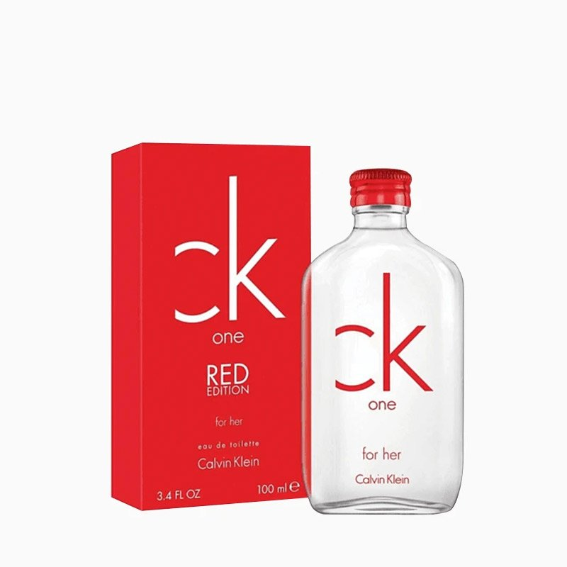 Calvin Klein One Red 100Ml Mujer  Edt