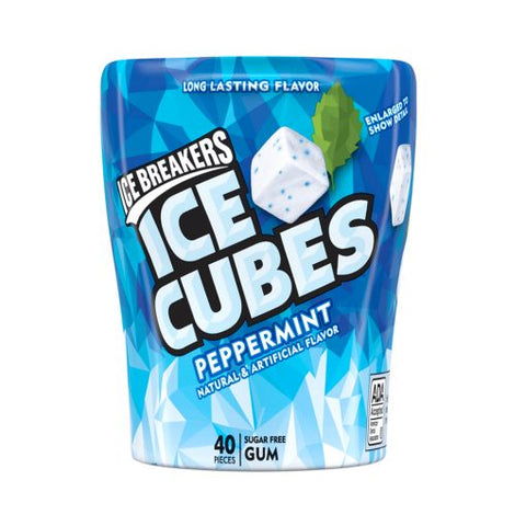 Icecubes Peppermint Chicle 3.24oz Vence el 01/Jan/21