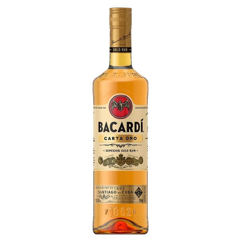 Ron Bacardi Oro 750Ml