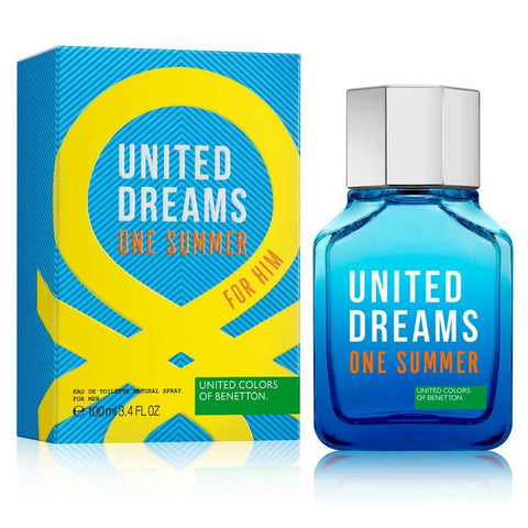 One Summer Benetton 100Ml Hombre Edt