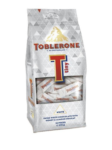 Toblerone Mondelez Mini Blanco / White 272g Vence el 04/Aug/20
