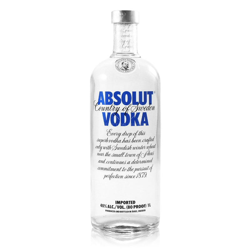 Vodka Absolut Blue (Tradicional) 1000Ml 40%Alc