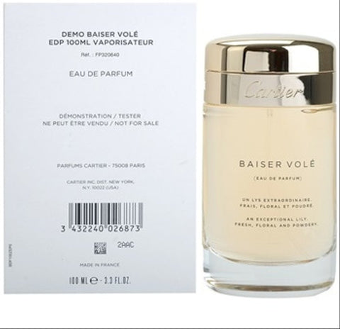 Basier Voile Cartier Tester 100Ml Mujer  Edp