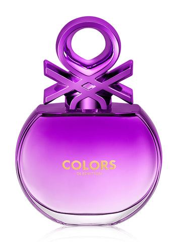 Colors Purple Benetton Tester 80Ml Mujer  Edt