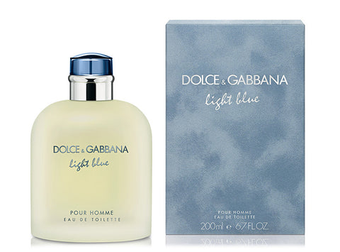 D&G Light Blue Edt 200Ml Hombre