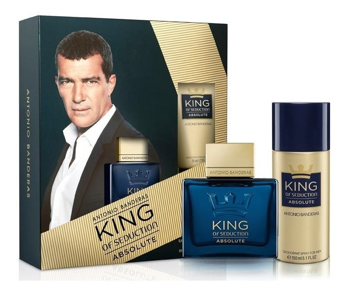 King Absolute Antonio Banderas Estuche 50Ml + Deo Hombre  Edt