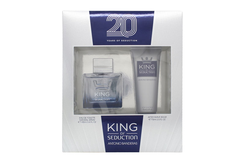 King Of Seduction Antonio Banderas Estuche 100Ml + A/S Hombre  Edt