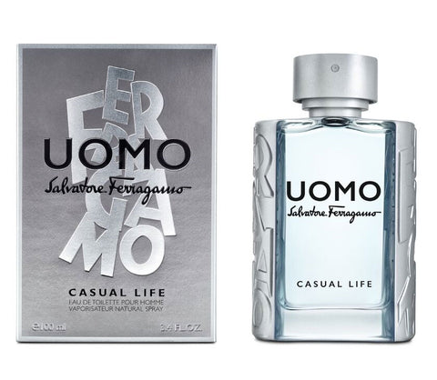 Uomo Casual Life Salvatore Ferragamo 100Ml Hombre  Edt