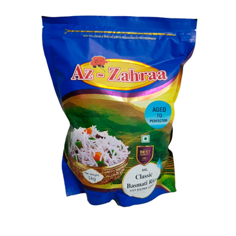 Arroz Basmati Grano XXL Super Largo - 1 Kg