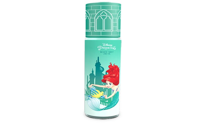 Disney Princess Ariel  240Ml Body Mist  Colonia
