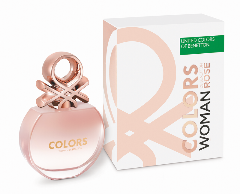 Colors Rose Benetton 80Ml Edt Mujer