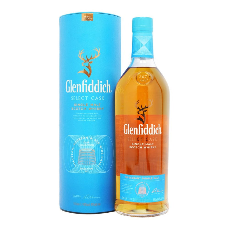 Whiskey Select Cask Glenfiddich 1Lt Alc 40%