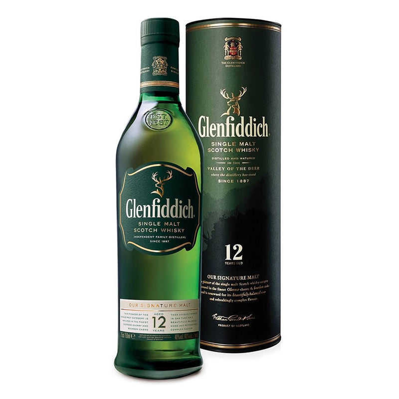 Whiskey Glenfiddich 12 Años 750Ml 40% Alc