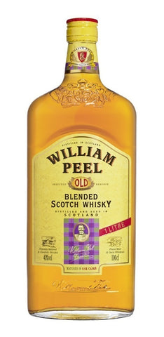 Whisky William Peel Scotch 1Lt