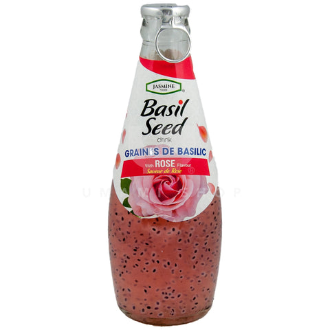 Basil Seed Drink Rose
