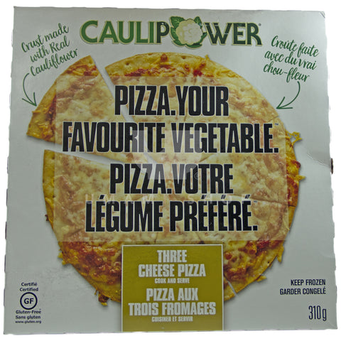 Cauliflower 3Cheese Pizza (GF)