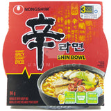 Shin Noodle Bowl Spicy