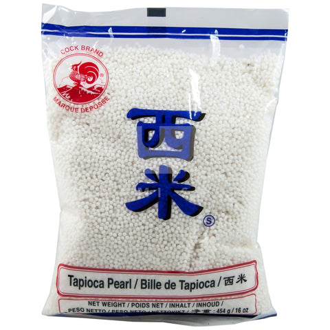 Tapioca Pearls White (S)