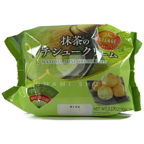 Mini Matcha Cream Puffs