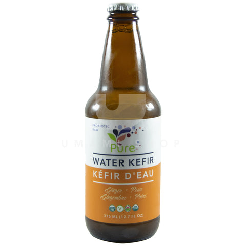 Water Kefir Ginger Pear