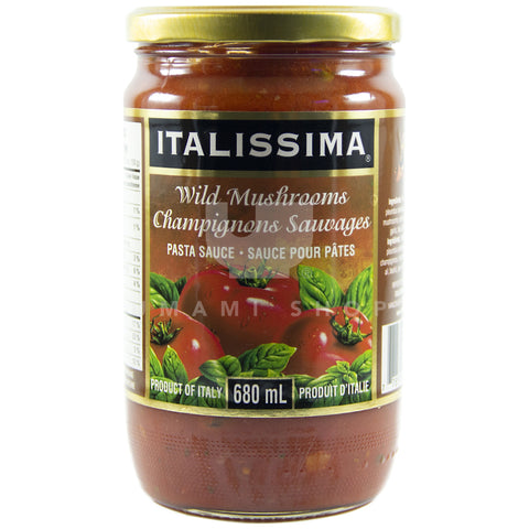 Pasta Sauce Wild Mushrooms