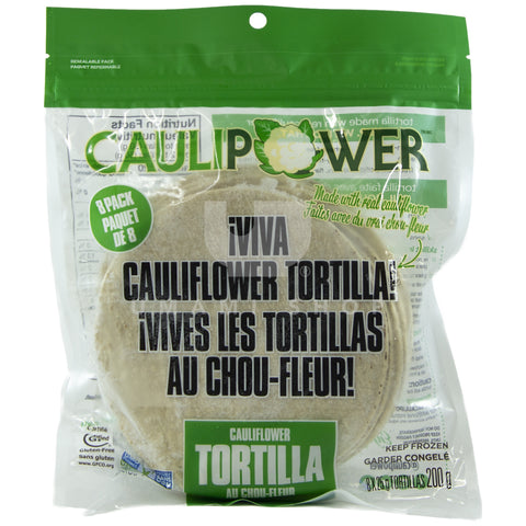 Cauliflower Tortillas (GF)