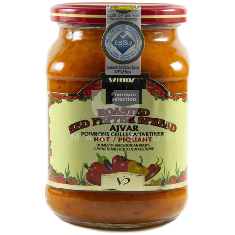 Rst. Red Pepper Spread Hot
