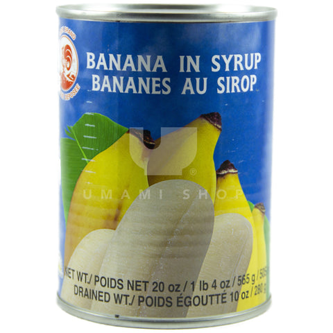 Banana in Syrup