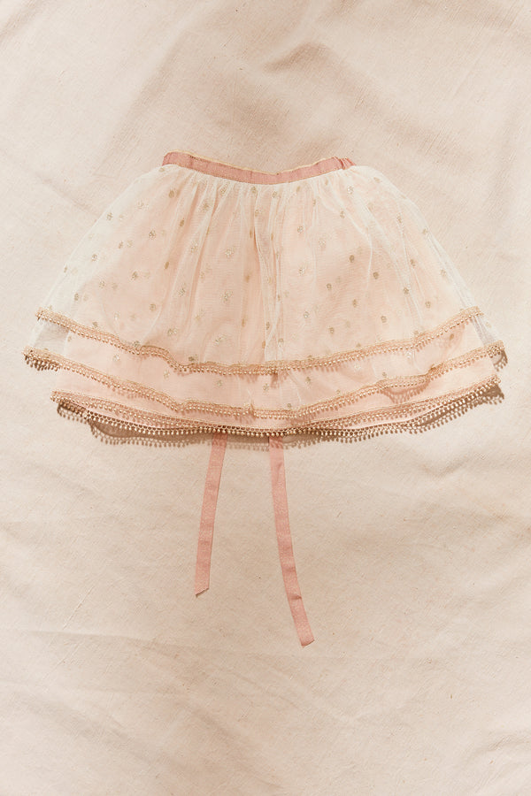 Bella Tutu Skirt - Strawberries & Cream