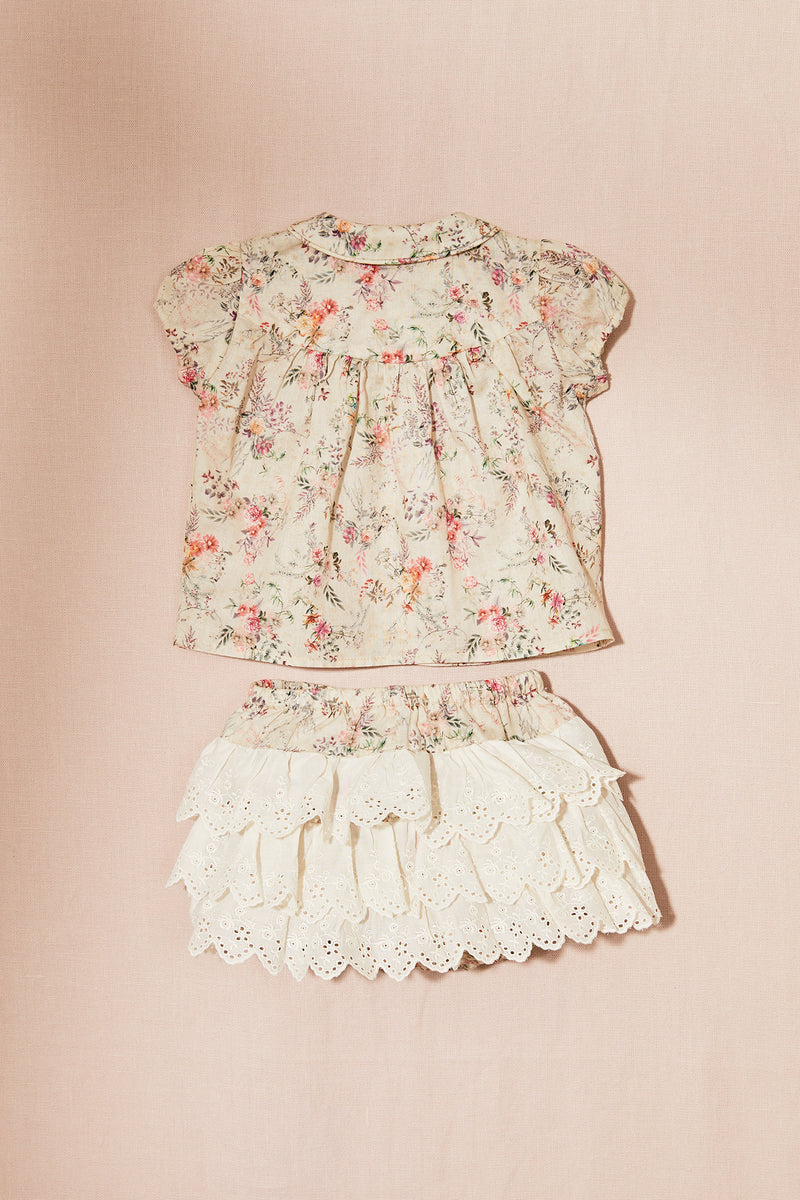 Lollypop Bloomers in Garden Flower Cotton