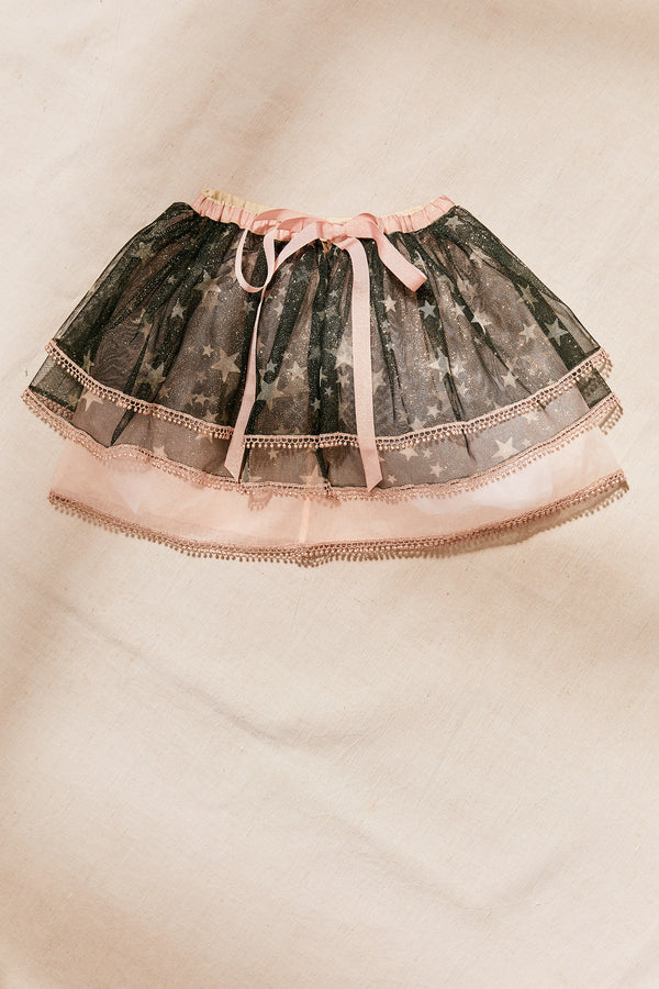 Stars Tutu Skirt - Strawberries & Cream