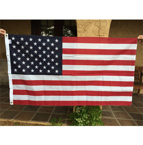 US Flag - Poly Cotton 3x5