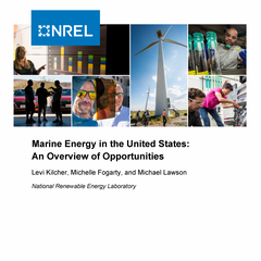 Marine Energy in the United States: An Overview of Opportunities