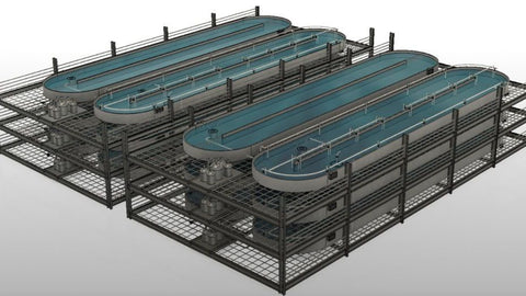 Going up: High hopes for a vertical aquaculture venture