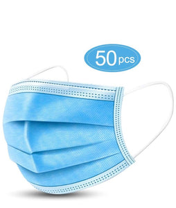 3 Ply Non Medical Face Masks  Packs of 50's