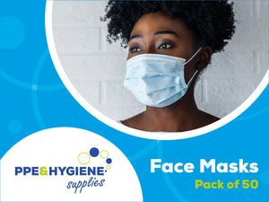 3 Ply Disposable Masks Boxed 50's