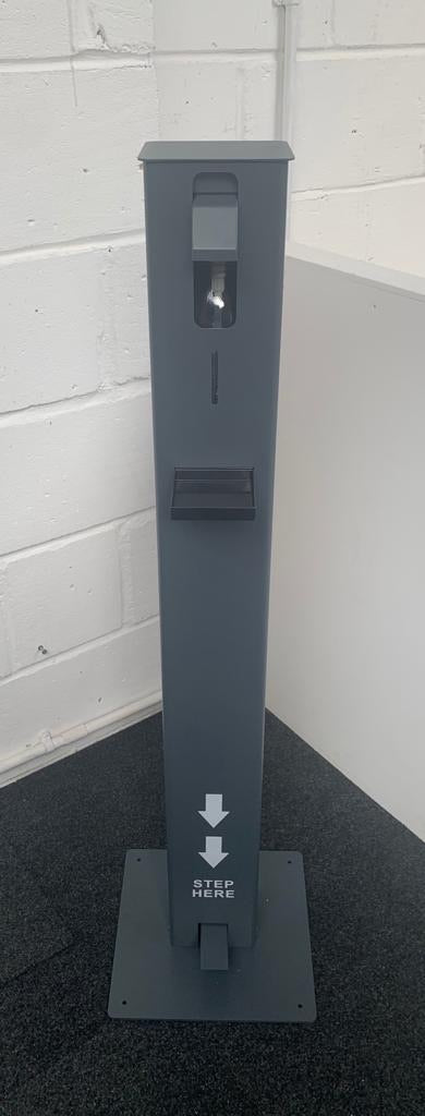 Footpedal Operated sanitiser Stations- Make your business Covid-19 friendly