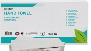 2 Ply Paper Hand Towel ideal for salons & barbers