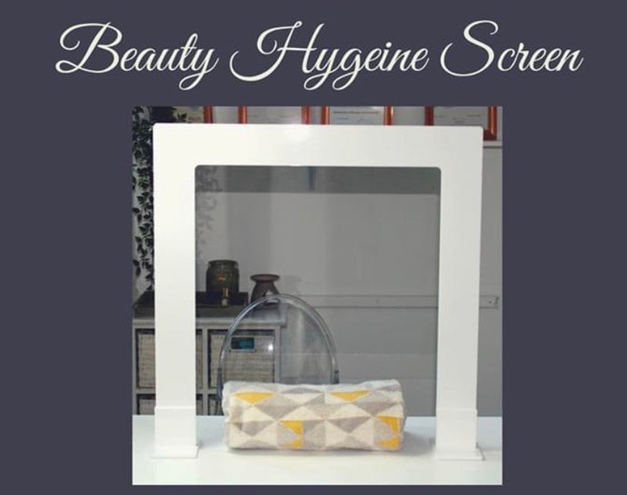 Beauty hygiene screens perfect for protecting both your staff and clients