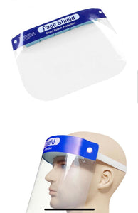 Clear Face Visors, Easy to clean, anti-fog face mask
