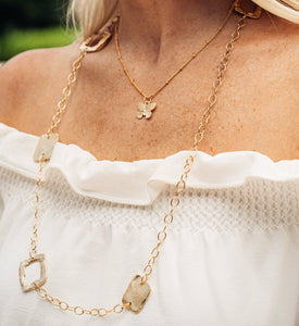 Square Chain Necklace