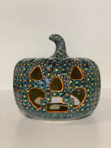 Large Polish Pottery Pumpkin Spice
