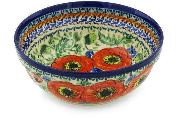 Signature Zaklady Soup/Cereal Bowl Burst of Red